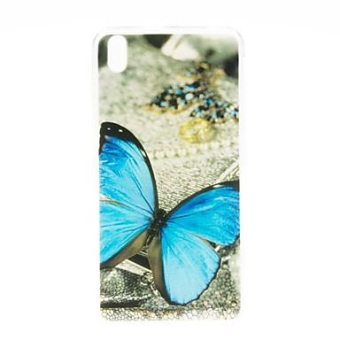 Pentru Carcasă HTC Model Maska Carcasă Spate Maska Fluture Moale TPU HTC
