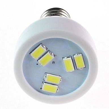 White Light LED-bec E14 2.5W 6LED SMD5630 220V
