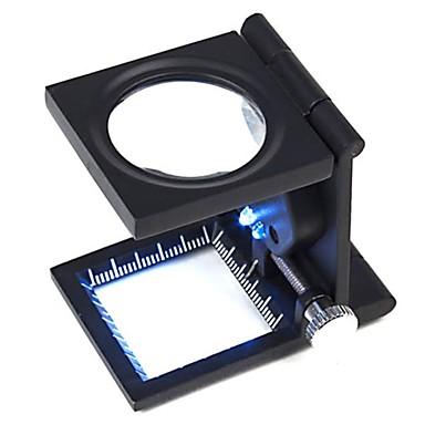 ZW-9005A portabil pliant 10X Fabric Verificarea Magnifier