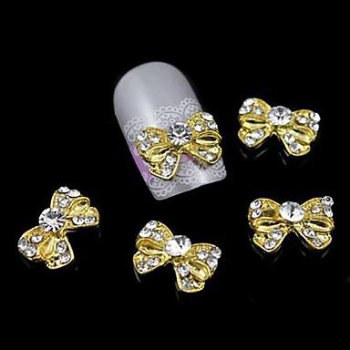 Μεταλλικό Κοσμήματα Νυχιών Για δάχτυλο toe Other Lovely τέχνη νυχιών Μανικιούρ Πεντικιούρ Φρούτο / Λουλούδι / Αφηρημένο Καθημερινά / Κινούμενα σχέδια
