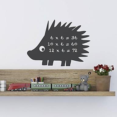 Desene Animate Tablă de scris cu creta Modă Perete Postituri Autocolante perete plane Autocolante de Perete Decorative MaterialLavabil