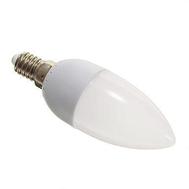 E14 Becuri LED Lumânare 10 SMD 3528 110-140 lm Alb Rece AC 100-240 V