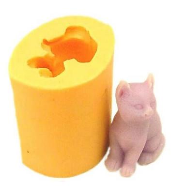 1 buc Silicon Ecologic Nuntă Reparații Tort Biscuiți Ciocolatiu Animal coacere Mold Instrumente de coacere