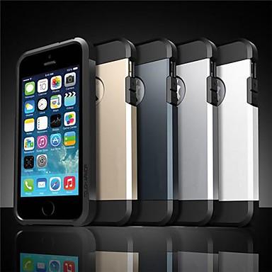 abordables Coques pour iPhone 5-toophone® Joyland pc + armure TPU cas de retour pour iphone 5/5 ans (couleurs assorties)