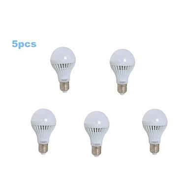 600-700 lm E26/E27 LED Kugelbirnen A80 30 Leds SMD 2835 Kühles Weiß Wechselstrom 220-240V