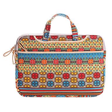 bohem basit 15.4 inç elma laptop çantası