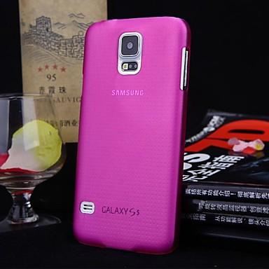 pure kleur ultradunne pc-behuizing voor de Samsung Galaxy i9600 s5