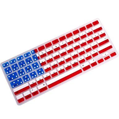 11.6 için coosbo® usa bayrak silikon klavye kapağı deri