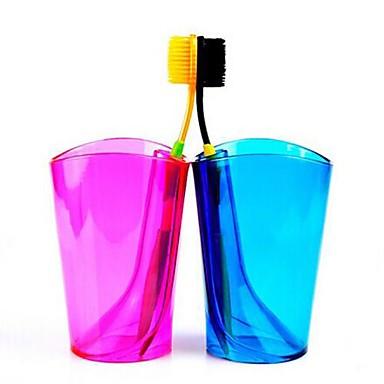 multifuncțional bomboane de culoare periuta de dinti cupa și suport periuta de dinti (culoare aleatorii)