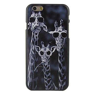 Pentru Carcasă iPhone 6 / Carcasă iPhone 6 Plus Model Maska Carcasă Spate Maska Animal Greu PC iPhone 6s Plus/6 Plus / iPhone 6s/6