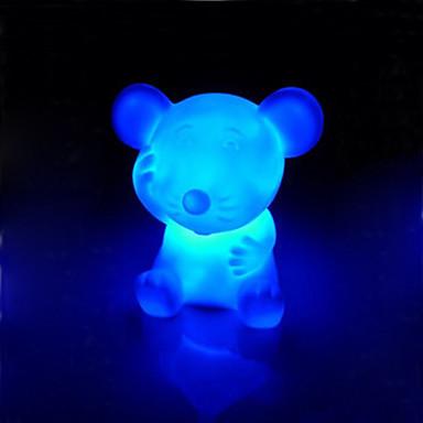 rotocast renk değiştiren gece lambası sıçan