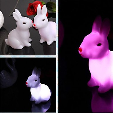 LED Night Light Waterproof Battery PVC 1 Light Batteries Included 7.0*6.0*8.0cm