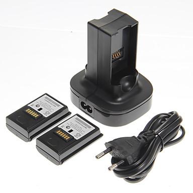 Piller ve Şarj Aletleri Uyumluluk Xbox 360,Plastik Piller ve Şarj Aletleri Kablolu
