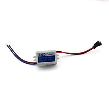 1 adet lamba güç kaynağı ışık trafosu led ampul sürücüsü 4-5x1 w sabit akım