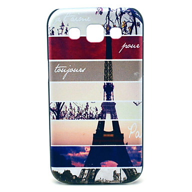 Samsung Galaxy Win I8552 için Paris Kulesi Desen Hard Case
