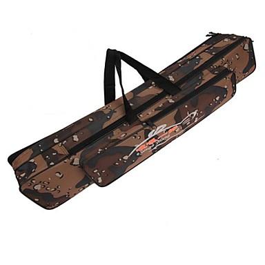120 εκατοστά τσάντα καλάμι πολυλειτουργικό καμουφλάζ διπλό στρώμα υπαίθρια αλιείας τσάντα