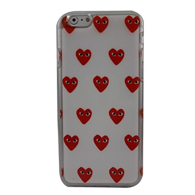 Voor iPhone 6 hoesje iPhone 6 Plus hoesje Hoesje cover Patroon Achterkantje hoesje Hart Hard PC vooriPhone 6s Plus iPhone 6 Plus iPhone