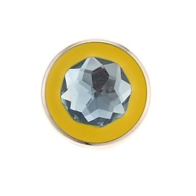 elmas, metal tarzı USB flash sürücü bling beşgen mücevher desen yuvarlak zp 64gb