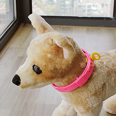 Cachorro Colarinho Retratável Rosa claro