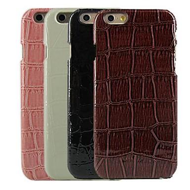 Pouzdro Uyumluluk Apple iPhone 6 Plus / iPhone 6 Temalı Arka Kapak Geometrik Desenli Sert PC için iPhone 6s Plus / iPhone 6s / iPhone 6 Plus