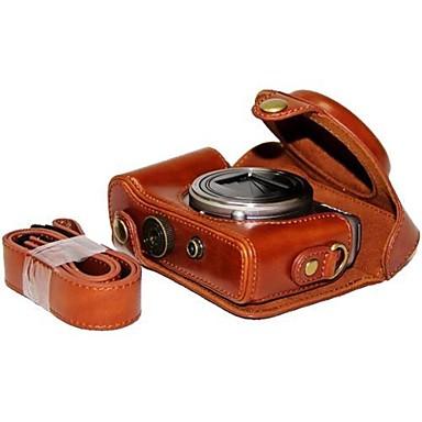 pajiatu® pu κάμερα από δέρμα λαδιού προστατευτική θήκη τσάντα κάλυψη για Sony DSC-hx50v hx60 HX50 HX30 hx10 LCJ-HN