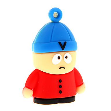zp40 8GB desene animate om în pălărie USB Drive 2.0 fulger