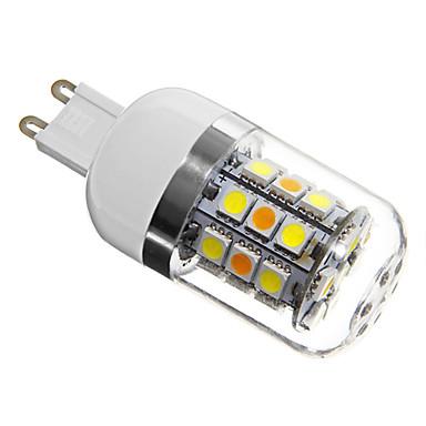 Becuri LED Corn 280 lm G9 T 31 LED-uri de margele SMD 5050 Alb Natural 220-240 V