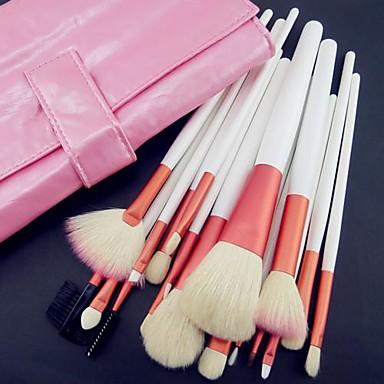18 Brush Sets Kwast van geitenhaar / Synthetisch haar / Nylonkwast / Overige Gezicht / Lip / Oog Overige