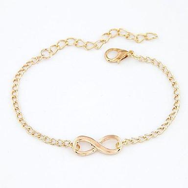 Damen Bettelarmbänder - Unendlichkeit Personalisiert, Einzigartiges Design, Europäisch Armbänder Silber / Bronze / Golden Für Weihnachts Geschenke / Alltag