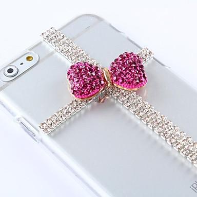 frumos stil DIY cu pietre model de plastic acoperire greu pentru iPhone 6