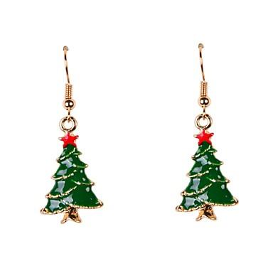 Damen Tropfen-Ohrringe - Weihnachten Für Party / Alltag / Normal