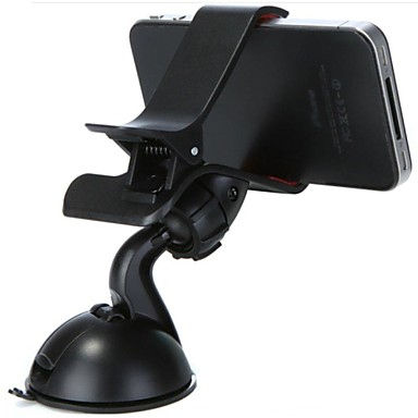 auto universele mobiele telefoon mount standhouder 360 ° rotatie universele mobiele telefoon plastic houder