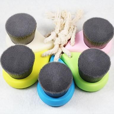zachte gezichtsreiniging borstel diepe poriën schoon bamboe houtskool vezels gezichtsverzorging borstel