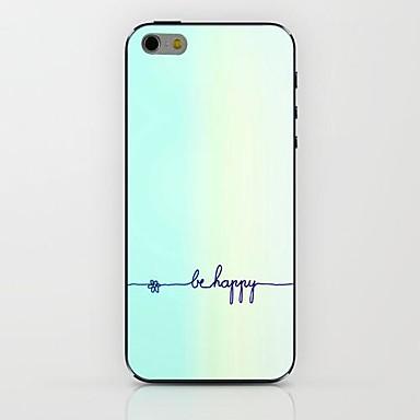 Hülle Für Apple iPhone 6 Rückseitige Hülle Wort / Satz Hart PC für Apple
