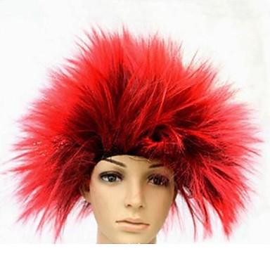 rote Igel Haare Halloween-Maskerade-Perücke