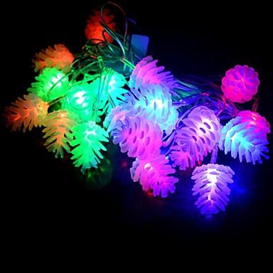 1pack Leuchtgirlanden LED-Perlen Hochleistungs - LED Wasserfest / Dekorativ 220 V