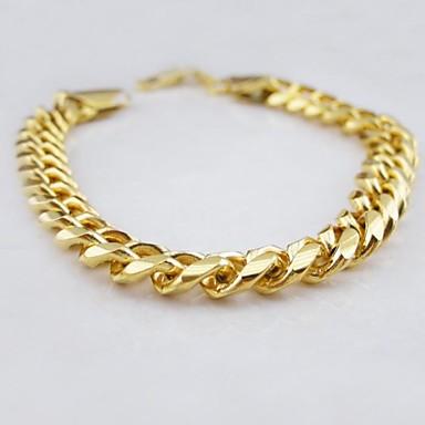 Heren Anderen Armbanden met ketting en sluiting - Uniek ontwerp Modieus Gouden Armbanden Voor Kerstcadeaus Bruiloft Feest