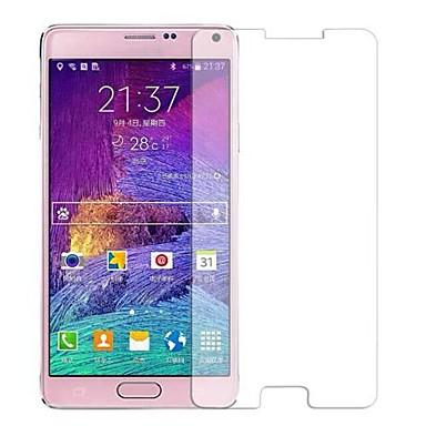 Screenprotector Samsung Galaxy voor Note 4 Gehard Glas Voorkant screenprotector Anti-vingerafdrukken