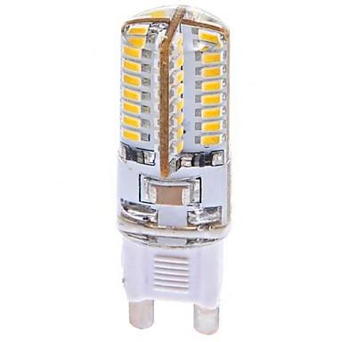 YWXLIGHT® 1pc 3 W 360 lm G9 LED Mais-Birnen T 64 LED-Perlen SMD 3014 Warmes Weiß 100-240 V