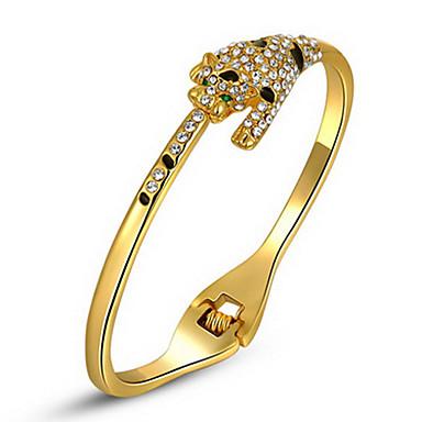 roxi kerst cadeau klassieke vrouwen luipaard armbanden, echte Oostenrijkse kristallen, goud platedbracelet, chrismas