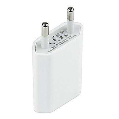 billige Telefonladere-hjem lader / bærbar lader usb vegg lader adapter eu plug 1 usb port 1 a for mobiltelefon