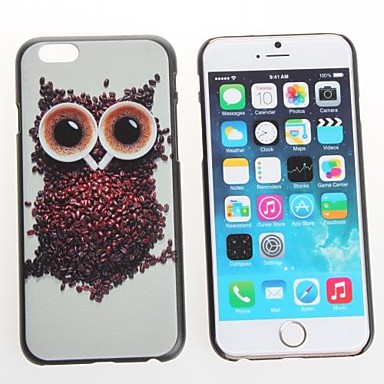 Voor iPhone 6 hoesje / iPhone 6 Plus hoesje Patroon hoesje Achterkantje hoesje Uil Hard PC iPhone 6s Plus/6 Plus / iPhone 6s/6