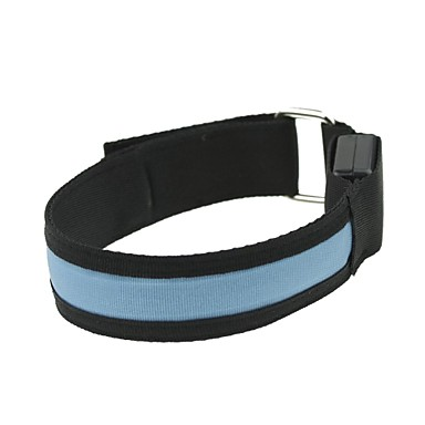 LED-Licht-Armbinde Band Armbinde blau (2xCR2032)