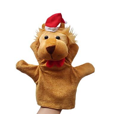 Lion Marionnettes de Doigt / Marionnettes / Marionnette Mignon / Nouveautés / Adorable Dessin Animé Textile / Pluche Fille Cadeau