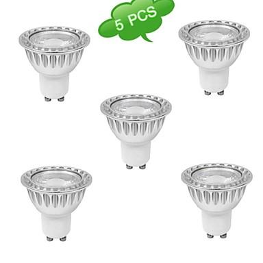 GU10 Lâmpadas de Foco de LED MR16 1 leds COB Branco Quente 630lm 3000K AC 85-265V