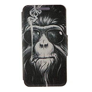 tok Για Motorola Θήκη Motorola Θήκη καρτών Ανοιγόμενη Πλήρης Θήκη Ζώο Σκληρή PU δέρμα για