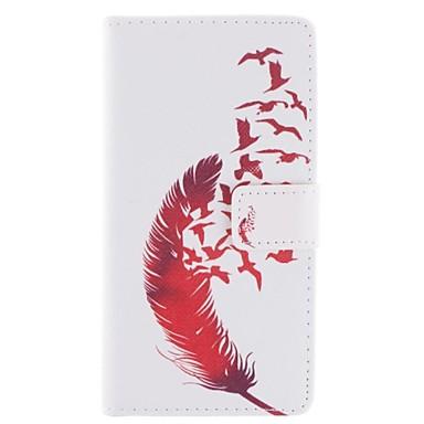 Pouzdro Uyumluluk HTC HTC Kılıf Cüzdan / Kart Tutucu / Satandlı Tam Kaplama Kılıf Tüyler Sert PU Deri için