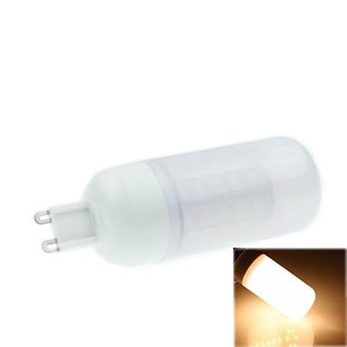 5w g9 lumini de porumb condus t 36 smd 5730 420-500lm cald alb 2800-3500k dc 12v