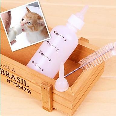 vierteilige Set ein Milchflasche für Hunde und Katzen