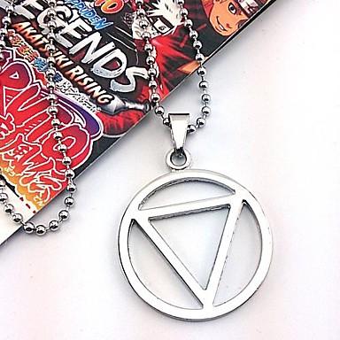 Schmuck Inspiriert von Naruto Hidan Anime Cosplay Accessoires Halsketten Aleación Herrn heiß